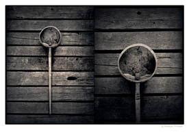 Coconut shell ladle by Menoevil