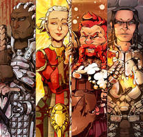 Dragon Age Origins - Bookmarks II by EmiDeClam