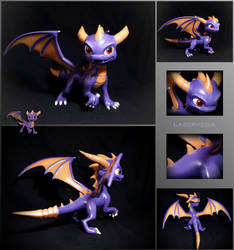 Skylanders Academy Spyro by Laservega