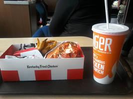 My KFC lunch by NicktoonsAnimes