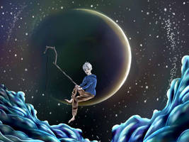 Rise of the Guardians's Jack Frost-DreamWorks Logo by xMasqueradia
