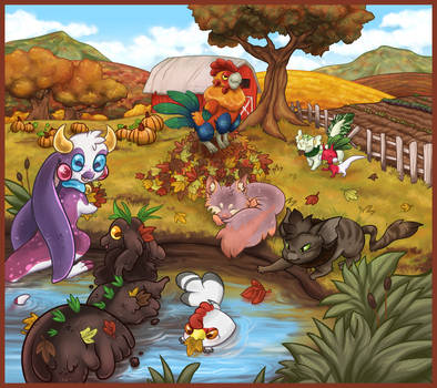 autumn clean up || symphpond by Awehhh