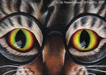 A Cat Named Harry by TaraFlyArt
