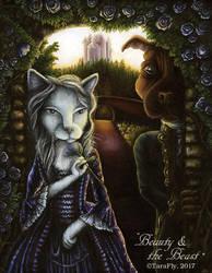 Beauty and the Beast by TaraFlyArt