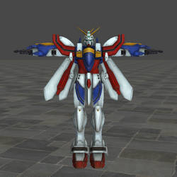 God/Burning Gundam XNAlara Model Download by Metalscourge18ZX