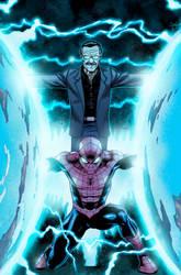 Spider-man and Stan Lee by robtlsnyder