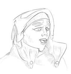 Sketchy sketch by zmote