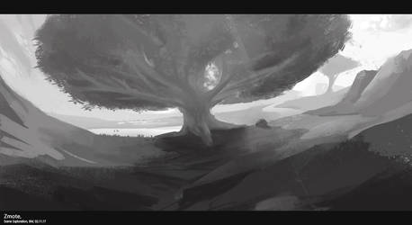 Scene Exploration - BW by zmote