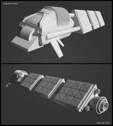 Transport Concept / Blender Experiment by zmote