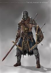 Grimdark Souls - Oscar of Astora by SaneKyle
