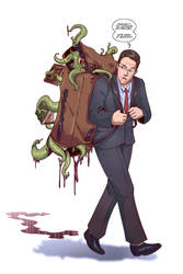 Lovecraft Backpacker of the Unknown by SaneKyle