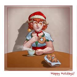 Happy Holidays from Emritt by SaneKyle