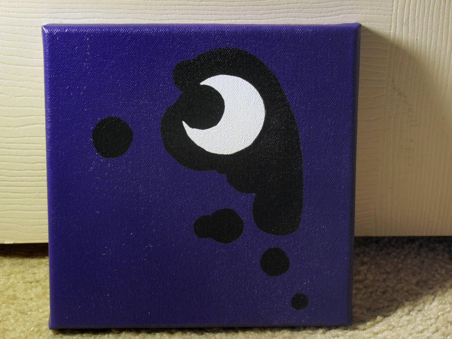 Luna's Cutie Mark Stencil by brycehebert