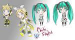 Chibi Styles by phoenixcrash