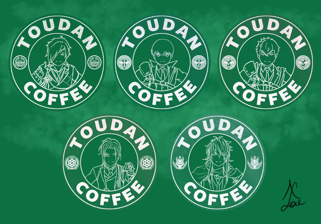 Toudan Coffee - Osafune Set by AlaudeSketchbook