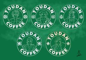 Toudan Coffee - Yari and Naginata Set by AlaudeSketchbook