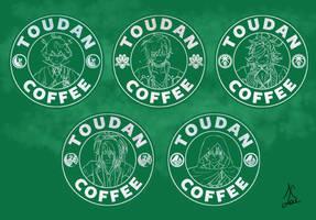 Toudan Coffee - Depressed Set by AlaudeSketchbook