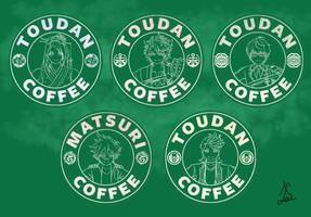 Toudan Coffee - Cheerful Set by AlaudeSketchbook