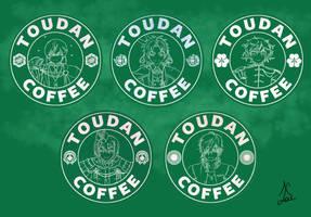 Toudan Coffee - Sadamune Set by AlaudeSketchbook