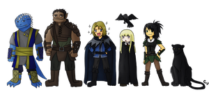 Awesome Adventurers by gateux