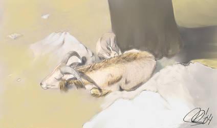 Descansando... by mimideath