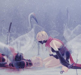 Cold by hueyo
