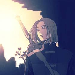 [DQ11/Hero] by hueyo