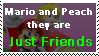 Mario and Peach they are Just Friends by MarioBeePlz
