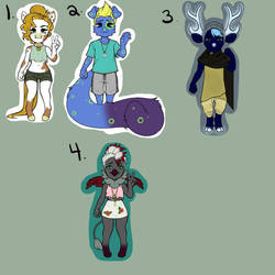 OPEN ADOPTS by anaracorra