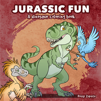Book published: Jurassic fun by Silver-Ray