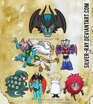Devilman Sticker dump by Silver-Ray