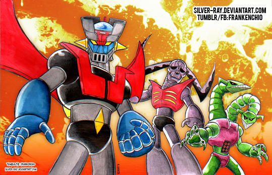 Mazinger tribute 2018 by Silver-Ray