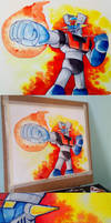 Mazinger watercolor II by Silver-Ray