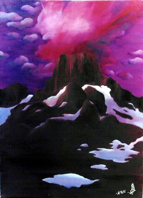 Purple Clouds by r-Ghaidaa