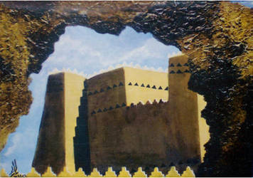 Traditional Saudi houses by r-Ghaidaa
