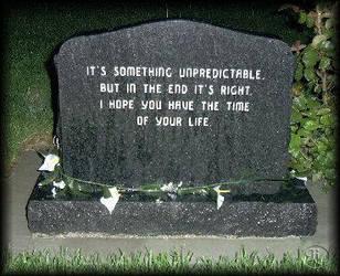 Rob's Headstone by fallnangeltears