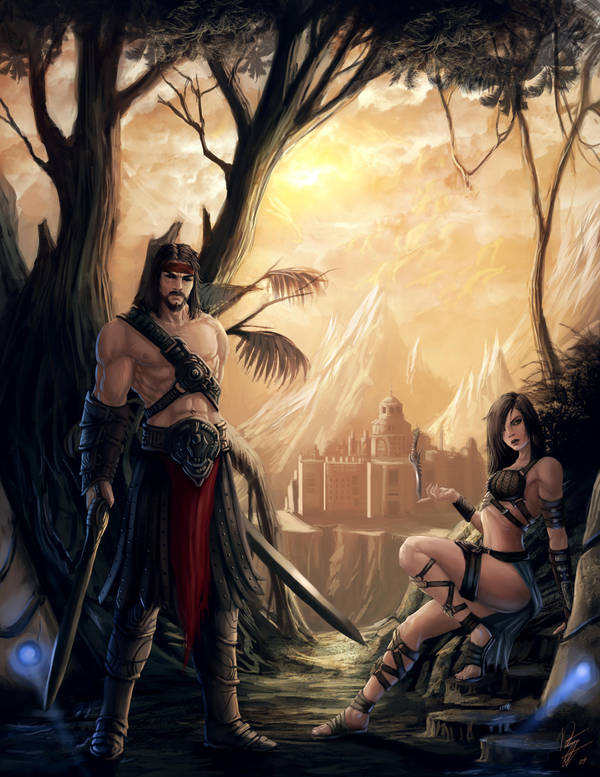 Barbarian- Rogue by Peter-Ortiz