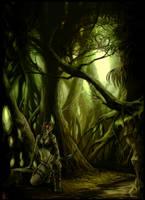 Wood Elf by Peter-Ortiz