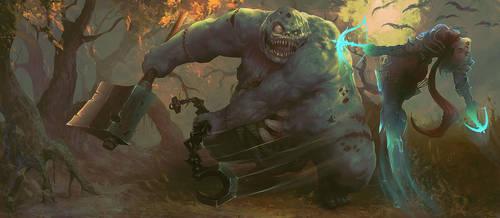 Stitches vs Demon Hunter by Peter-Ortiz
