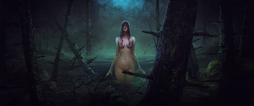 Forest Witch by Peter-Ortiz