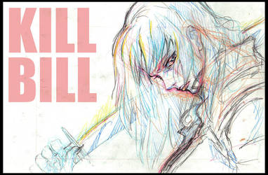 Kill Bill rakugaki 1205 by titanomaquia