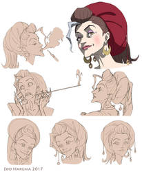 Lydea / Face Design by titanomaquia