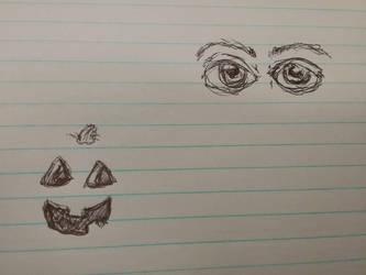 random doodle by Mindslave24-7
