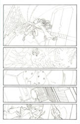 Myths Lineart Page 01 by Blaquesmith