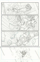 Myths Lineart Page 02 by Blaquesmith