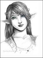 .:Elven Princess:. by Ranefea