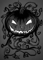 Drawlloween/Inktober: Pumpkin - October 6, 2015 by Ranefea