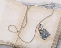 Drawlloween/Inktober: Amulet - Oct 15, 2015 by Ranefea
