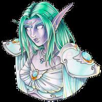 Priestess by Ranefea