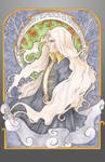 Art Nouveau Alucard by Ranefea